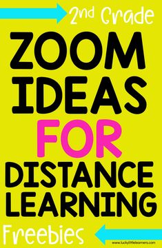 Are you a teacher looking for Zoom games and activities for distance learning? Here are 15 different Zoom games, activities, and freebies for you to use with your students to spice up their learning and bring fun back into your teaching!