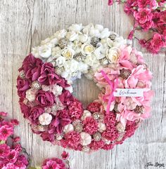 Floral Wreaths, Happy Easter, Pink Purple, Spring, Crafts, Diy, Home Decor, Flower Crowns, Happy Easter Day