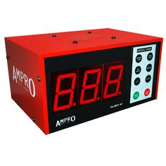 Ampro Digital Interval Round Timer £165.00