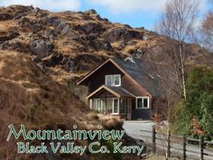 Mountainview Self Catering Accommodation Killarney Kerry Holiday Apartments, Catering, Ireland, Cabin, House Styles, Beautiful, Black, Catering Business, Black People