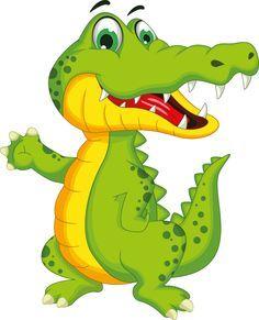 Cute crocodile cartoon styles vectors 07