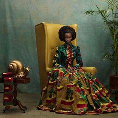 African queen Vlisco