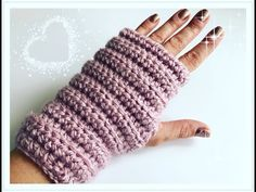 Crochet SIMPLE Fingerless Gloves / Crochet Arm Warmers for Beginners - You . Crochet Gloves Pattern, Crochet Shoes, Crochet Stitches, Crochet Patterns, Crochet Simple, Crochet Box, Knit Crochet, Knitting For Kids, Knitting For Beginners