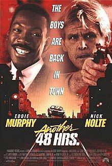 Another 48 HRS. [R] 93 mins. Starring: Eddie Murphy, Nick Nolte and Tisha Campbell 90s Movies, Great Movies, Movies To Watch, Action Movie Poster, Action Movies, Movie Posters, Internet Movies, Movies Online, Eddie Murphy Movies