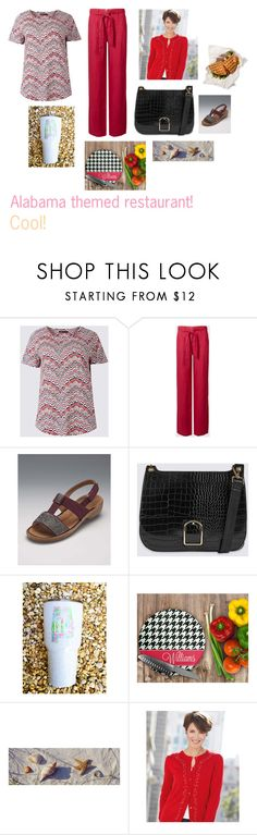 """""""For Hilda (friend) - Hilda's ideal wardrobe by me: Alabama themed restaurant!"""" by sarah-m-smith ❤ liked on Polyvore"""