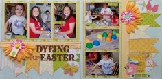 GLOworm Designs: Dyeing for Easter