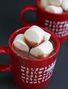 Thick Nutella Hot Chocolate (European Style) | Kirbie's Cravings | A San Diego Food Blog