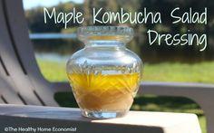 Maple Kombucha Salad Dressing