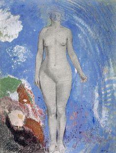Odilon Redon - Eve - Art Print