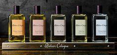 Vivez d'eau fraiche et parfumée! Succombez aux plaisirs des colognes de la maison Atelier Cologne.