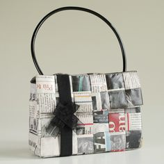 Eco Bag from newspaper