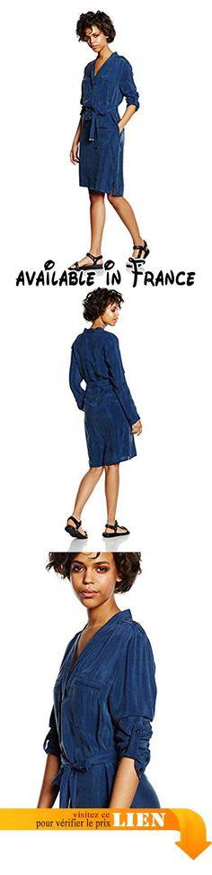 Laurèl - Robe - Chemise Femme -  Bleu - 42.  #Apparel #DRESS