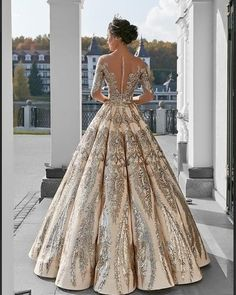 Ball Gown Long Sleeve Lace Appliques Prom Dresses Beads Long Wedding Dresses on . - - Ball Gown Long Sleeve Lace Appliques Prom Dresses Beads Long Wedding Dresses on sale – PromDress.uk Source by monkey_d_tarah Prom Dresses For Teens, Long Wedding Dresses, Long Gowns, Elegant Dresses, Pretty Dresses, Formal Dresses, Long Gown Elegant, Ball Dresses, Evening Dresses