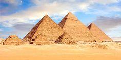Obrovské pyramidy.