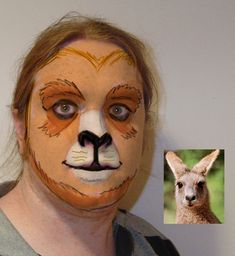 1. This does not really resemble a kangaroo 2. I'm just weirded out in general  but maybe something like this but a whole lot less creepy
