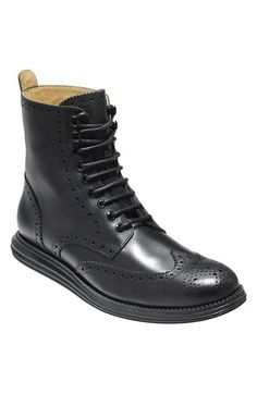 Cole Haan 'LunarGrand' Wingtip Boot (Men) available at #Nordstrom