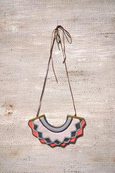 Ideias de Veludo ®: colares de tricot   knitted necklaces