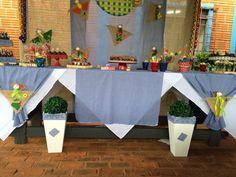 Festa junina para os 7 anos do Lucas