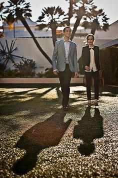 Joseph Gordon-Levitt and Ellen Page