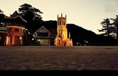 Ridge in the morning..serene cool and calm...heaven on the earth.. shangrilla of the mountain...hillqueen shimla