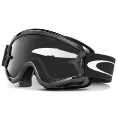 35a4f06797 Oakley MX L Frame Adult Dirt Off-Road Motorcycle Goggles Eyewear - Carbon  Fiber Clear   One Size Fits All.