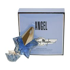 Angel By Thierry Mugler For Women. Eau De Parfum Spray 0.8 Oz + The Stars Miniature Collectible 0.17 Oz. Packaging for this product may vary from that shown in the image above. This item is not for sale in Catalina Island.