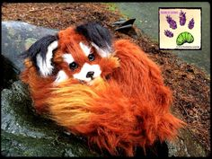handmade poseable animal recycled artist touchedbylavender Touched by Lavender artist artician craft crafts stuffed animal plush plushie red panda pabu the ledgend of korra Deviant art: http://touchedbylavender.deviantart.com/ Facebook: https://www.facebook.com/touchedbylavender?ref=hl