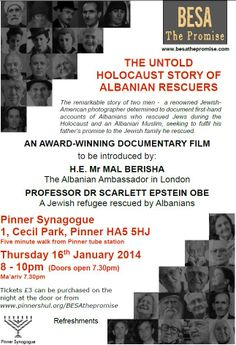 BESA - The Promise   Pinner Synagogue Jewish Film Festival, Documentary Film, Documentaries, Festivals, Articles, Concerts