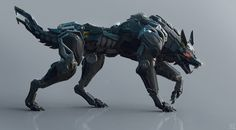 armor - This could awesome mech Robo tiger robot animal Futuristic Armour, Futuristic Art, Futuristic Technology, Technology Gadgets, Robot Concept Art, Armor Concept, Weapon Concept Art, Cyberpunk, Animal Robot