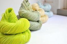 Summer In The City - Colour Palette - Merino Silk Sport