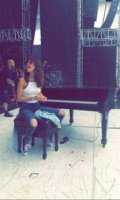 Selena Gomez revival tour julio 2016 snapchat