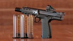For Kel-Tec Weapons announced its long-awaited, LR variant of its popular Check out our range experience with the here. Self Defense Weapons, Weapons Guns, Guns And Ammo, Battle Rifle, Iron Sights, Concept Weapons, Survival Gear, Shotgun, Firearms