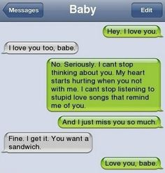 bf and gf sexy  texting | Funny Random Things To Text Your Girlfriend