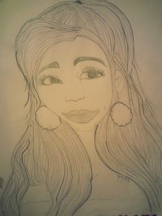 My othet version of Ariana Grande The lips are messed up to lol  Lips are hard  Im working on getting better