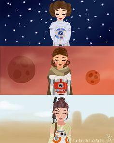 Ladies of Star Wars
