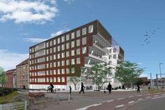 Architectura - Duurzaam kantoorgebouw verrijst aan de Zwaaikom