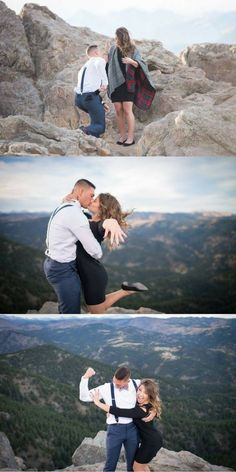 This post contains photos 20 cute celebrity couples who got engaged this summer. These celebrity couples have unique beautiful relationships. Surprise Proposal Pictures, Cute Proposal Ideas, Proposal Photos, Perfect Proposal, Engagement Stories, Engagement Ideas, Engagement Shoots, Engagement Photography, Family Photography