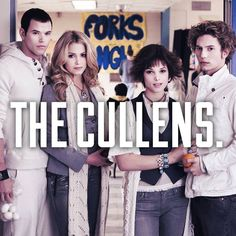 How can you be team Jacob when there are the Cullen's??? Look at them, and Edwards not even there