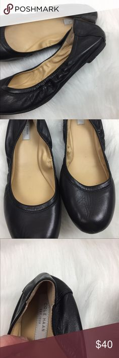 Cole Haan Black Leather Ballet Flats Size 7.5 Flawless condition Cole Haan Shoes Flats & Loafers