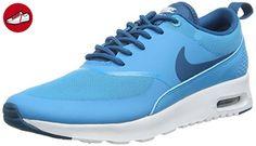 Nike Damen Wmns AIR MAX Thea Sneakers, Blau (411 Blue Lagoon/Green Abyss-White), 40.5 EU/ 9 US (*Partner-Link)