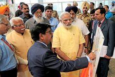 Pm modi inaugurates mohali international Airport. #internationalairportmohali #mohaliairport #airportmohali #narendramodi #sukhbirsinghbadal #parkashsinghbadal