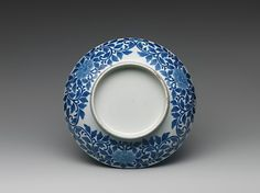 Dish with Design of Peaches