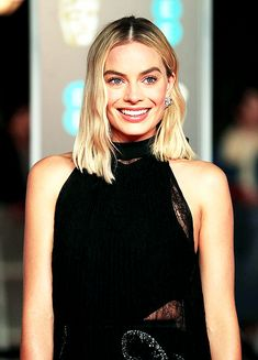 Margot Robbie looks stunning at the 2018 EE British Academy Film Awards held at Royal Albert Hall on Sunday (February 18) in London, England.
