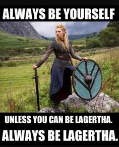 How accurate is Vikings by History Channel ? Is Ragnar Lothbrok real? What about Lagertha, Rollo & others? Lagertha Lothbrok, Vikings Lagertha, Vikings Tv Show, Vikings Tv Series, Katheryn Winnick, Viking Meme, Lagertha Costume, Escudo Viking, Outlander