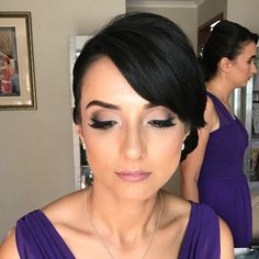 Glowing bridesmaid glam on this beauty! ��✨ #dmtstylist #bridesmaid #wedding #makeup #mua http://gelinshop.com/ipost/1514906832945137606/?code=BUGB7z9gcfG