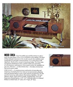 Circa 75 Electrohome 701C Stereo Console - Great looking design!  Love the roll top.