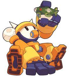 Bon Bonne from Mega Man Legends 2