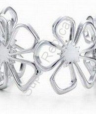 Flower Cuff 1058  Model #: TFBG-1058    $64.75  * Sterling silver * Includes a Tiffany  Co. gift box, dust pouch, sterling care card, and Tiffany  Co. shopping bag.