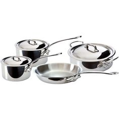Costco: Mauviel 7-pc. French Essentials M'Cook Stainless Steel Cookware Set $499.99