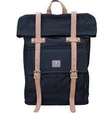Roll Top Vintage Rucksack Backpack